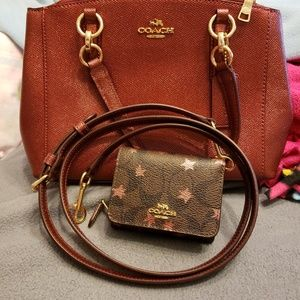 Coach crossbody and coach wallet